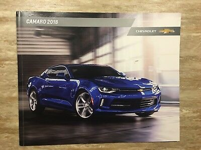 2018 CHEVY CAMARO 38-page Original Sales Brochure