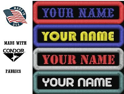 Custom-Embroidered-Name-Tag-Sew-on-Patch-Motorcycle-Biker-Patches