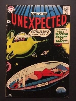 Tales of the Unexpected #29 (Sep 1958, DC) CLASSIC * SLEEPING BEAUTY OF SPACE