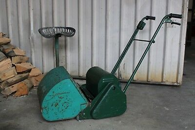 Vintage Scott Bonner Electric Lawnmower Drum Antique Working Blade