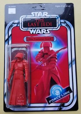 Custom Vintage Elite Pratorean Guard Action Figure 3.75in Star Wars Last Jedi