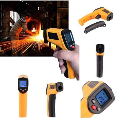 New Handheld Non-Contact IR Laser Infrared Digital TemperatGe Gun Thermomet#d