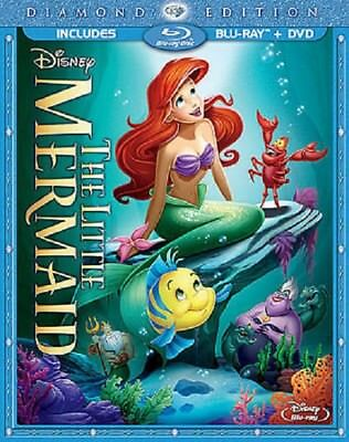 The Little Mermaid (Blu-ray/DVD, 2013, 2-Disc Set, Diamond Edition)NO CODE