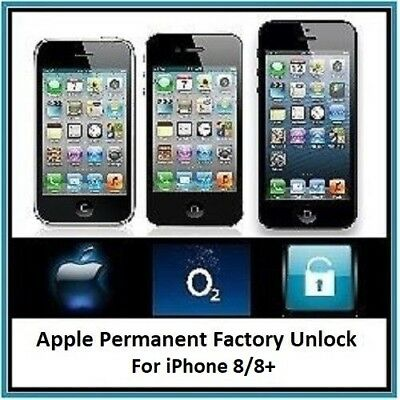 Official O2 Iphone 8 / 8+ Unlocking Service