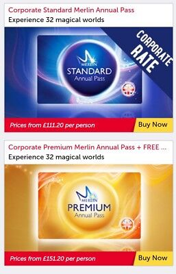 Merlin annual pass, Get 20% Discount ! *fast del* why pay more ???