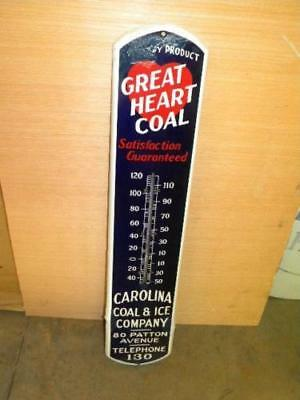 "1 (one)  Replacement 14"" Glass Tube Fits Old 39"" Porcelain &Tin Thermometer Sign"