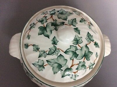 """BHS Country Vine China lidded tureen or vegetable dish 7"""""""