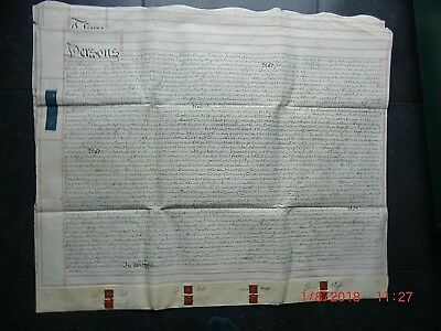 1752. (Geo.2nd.) INDENTURE. Deed of Partition  ROLFE FAMILY. ROMNEY MARSH. KENT.