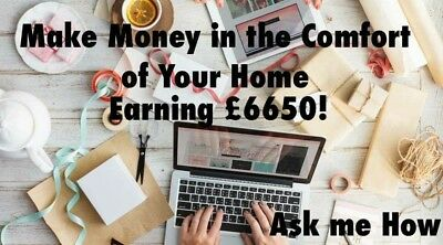 How To Make £6650 From Home Online Using Mobile Or Laptop - Low Start Up Cost
