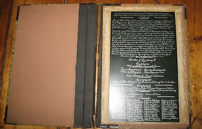 Antique Civil War 10th Rhode Island Volunteer Infantry Muster Roll Moses B Chace