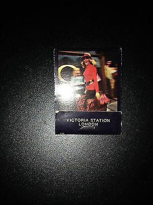 Victoria Station in London Match Book