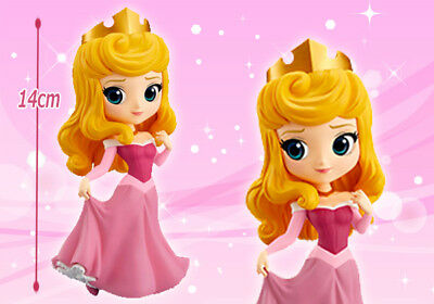 Banpresto Q Posket Disney Characters Figure Princess Aurora (pink) NEW Japan