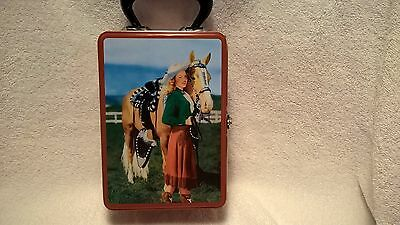 Lunch box, Dale Evans reproduction 2001, very nice condition