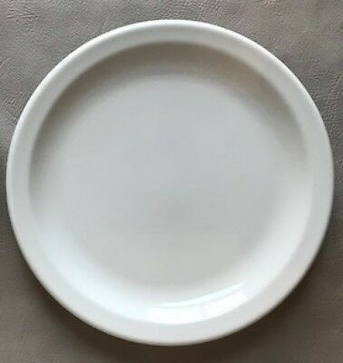 """Buffalo China Restaurant Ware 9 5/8"""" White Dinner Plate(S) Excellent!"""