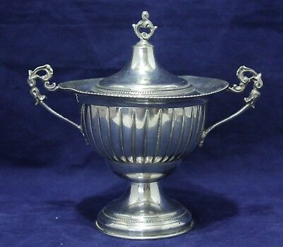 """Antique .800 Silver Sauce Tureen/Bowl - Stamped """"303"""" - 80 grams"""