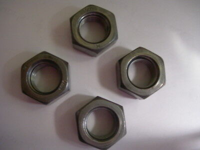 Assorted(Mixed) Pack of 40   M3, M4, M5, M6 Steel HEX Full Nuts