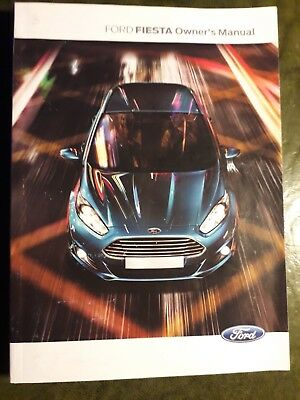 ford fiesta 2013 2017 handbook owners manual quick reference guide rh picclick co uk 2012 ford fiesta owners manual 2012 ford fiesta owners manual pdf