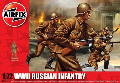 Airfix - A01717 – WWII Russian Infantry / Russische Infanterie  1:72