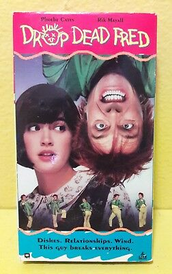 Drop Dead Fred - VHS Cult classic Phoebe Cates, Carrie Fisher, Tim Matheson 1991