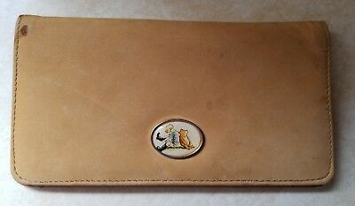 Winnie the Pooh Women's Brown Checkbook Cover The Disney Store
