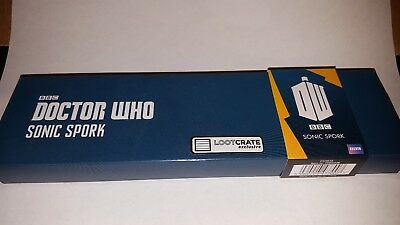 Loot Crate Exclusive Official BBC Doctor Who Sonic Spork Spoon Fork