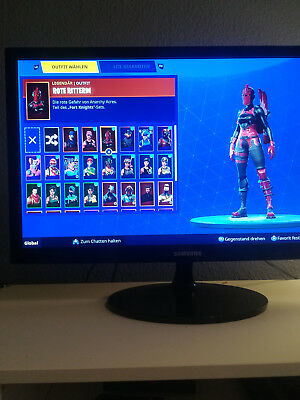 Fortnite Account Rote Ritterin Rette Die Weltseason 2 5 37 Skins