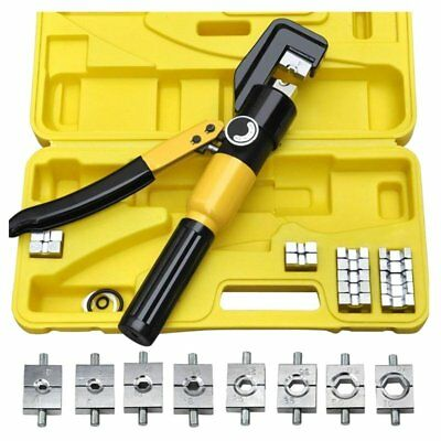 Heavy Duty 4-70mm 8T Manually Hydraulic Crimper Crimping Tool V4Y5
