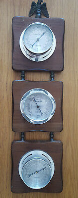 Springfield Three Guage Weather Station with Thermometer, Humidity, Barometer