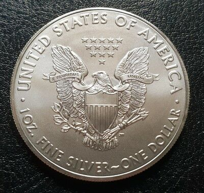 American Silver Eagle Dollar Coin 1 Troy Ounce 999 Silver Bullion,Coin 2018