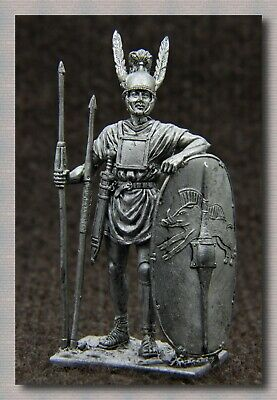"""Tin soldiers """"Ancient Rome"""" (54 mm, 1/32) # A 160  Roman legionary 3-2 centuries"""
