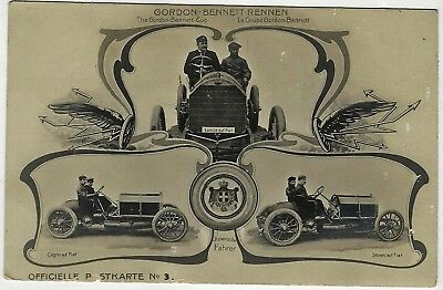 La Coupe Gordon Bennett Early Racing Car - Automobile