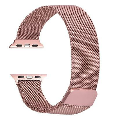 EXTREE Stainless Steel Mesh Milanese Loop with Adjustable Magnetic Closure Repla