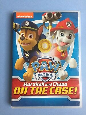 PAW PARTOL DVD NICKELODEON 2015, 8 Episodes Marshall and Chase On the Case!