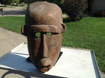 African Pende Mask With Stand