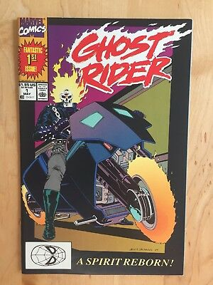 Ghost Rider #1 (Marvel 1990 Vol 2) Nm Copy - 1St Danny Ketch And Deathwatch!
