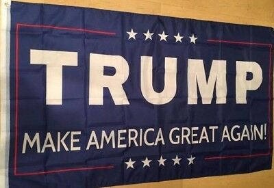Donald Trump MAGA Flag 5x3 America US Army White House American President USA