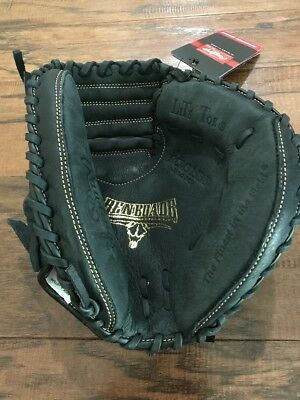 "NEW Rawlings Renegade Baseball Catcher's Mitt Glove 31 1/2"" Black RCM315BB"