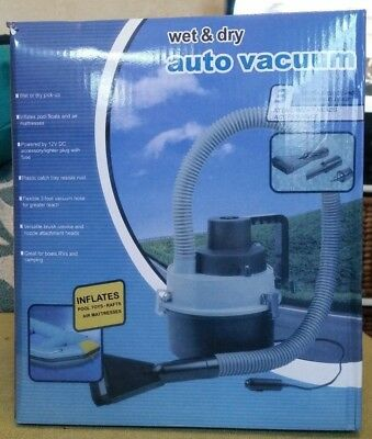 Car Vacuum 12V Inflator Wet & Dry