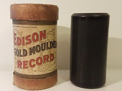 """Edison Gold Moulded Record (#9334)-""""Fisher's Hornpipe Medley""""(Release year:1906)"""