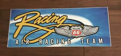 "Nice! Old AIR RACING TEAM Sticker 10"" Reno Air Race ?"