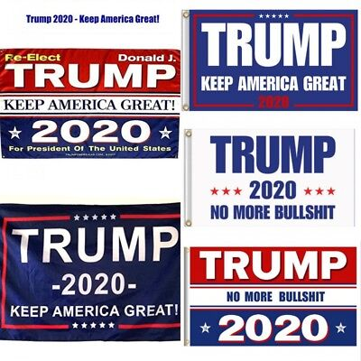 TRUMP 2020 Flag 3x5 ft  MAGA NEW REELECT TRUMP, KEEP AMERICA GREAT President USA