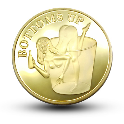 Sexy Girl Commemorative Coins Decision coin Creative coins Wishing coins