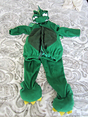 Old Navy Dragon Costume, Halloween (4T-5T on tag) green