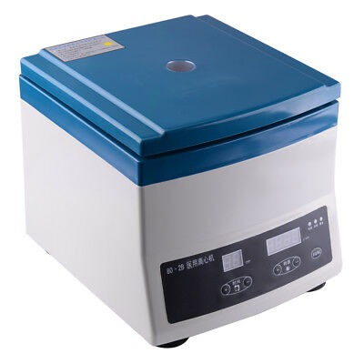 220V 80-2B Medical Lab Centrifuge Machine 300-4000RPM Digital Display 12 X 20ML