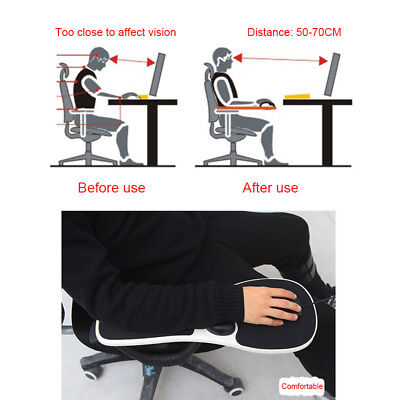 Chair Armrest Mouse ABS Pad Arm Wrist Rest Ergonomic Hand Shoulder Support Pads