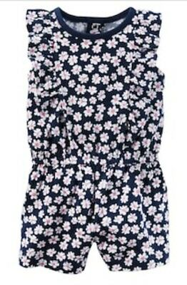 3c0205a11d40 Carter s Girl ~ Flowers Cotton Snap Up Romper ~ Short Sleeve ~ 6M ~ New w