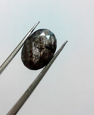 4.70 Cts untreated unheated 100% Natural Star Sapphire Oval Cut Loose Gemstone