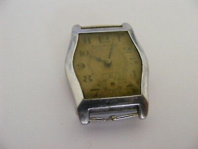 vintage/art deco NO NAME mid size hand wind watch-non runner-spares/repairs etc