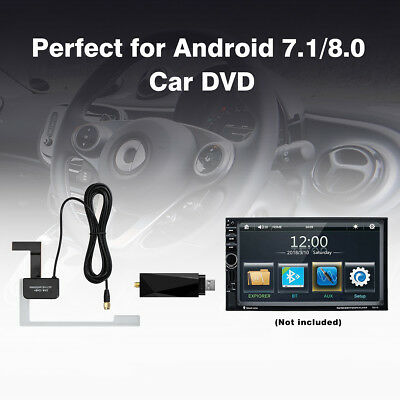 USB DAB+ Digital Radio Tuner Receiver Dongle For XTRONS Android 7.1/8.0 Car DVD
