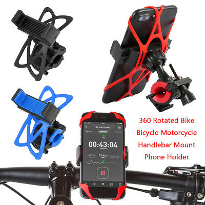 GPS Motorcycle MTB Bike Bicycle Handlebar Mount Holder For Cell Phone Universal
